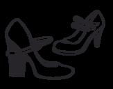 Dibujo de Scarpe chic