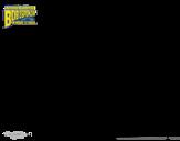 Disegno di SpongeBob - Invincibolla da colorare