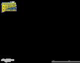 Disegno di SpongeBob - Supergenialone e Invincibolla da colorare