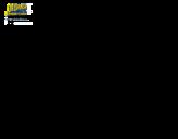 Disegno di SpongeBob - Supergenialone per l'attacco da colorare