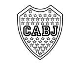 Disegno di Stemma del Boca Juniors da colorare
