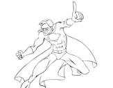 Disegno di Super ragazzo da colorare