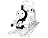 Disegno di Thomas la locomotiva da colorare