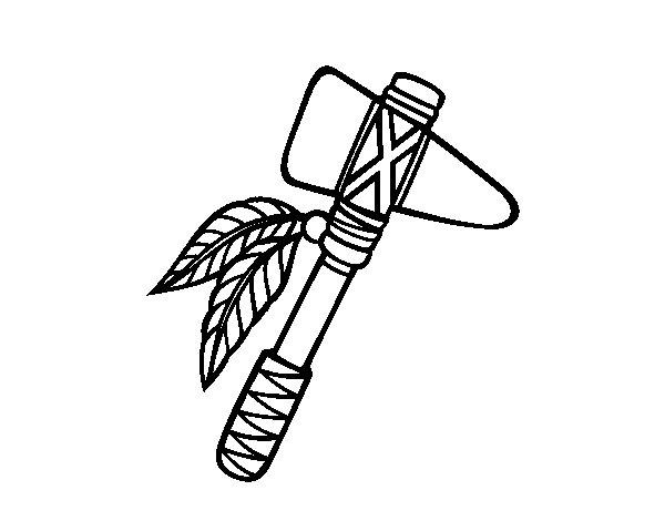 Disegno di Tomahawk da Colorare
