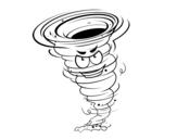 Disegno di Tornado Forza 3 da colorare