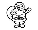Disegni di Babbo Natale