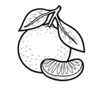Dibujo de Un mandarino
