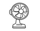 Disegno di Un ventilatore da colorare