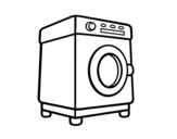 Disegno di Una lavatrice da colorare