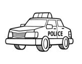 Dibujo de Una macchina della polizia