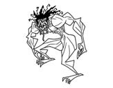 Disegno di Uomo troll da colorare