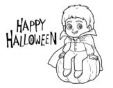 Dibujo de Vampiro per Halloween