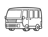 Dibujo de Vecchio furgone