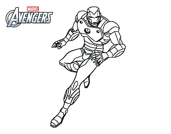 Iron Man Da Stampare: Disegno Di Vendicatori