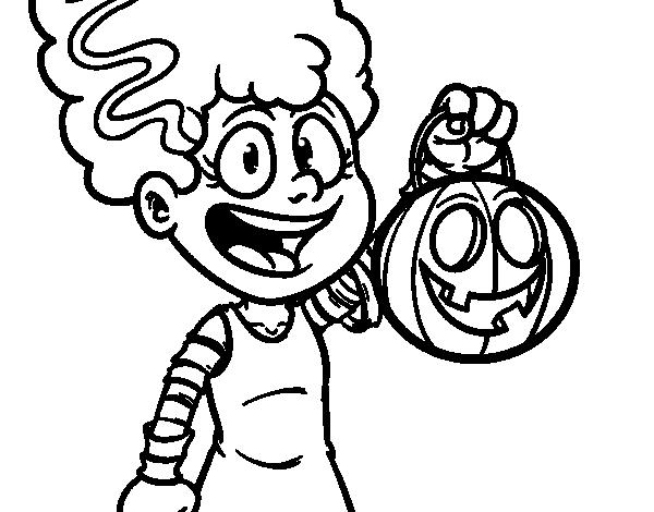 Disegno di vestito da halloween da colorare for Disfare la valigia in inglese