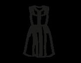 Disegno di Vestito estivo da colorare