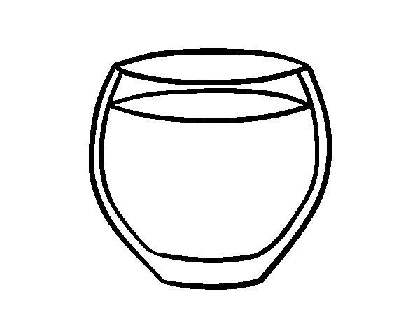 disegno di bottiglie de champagne e bicchieri da colorare