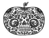 Disegni di Giorno dei morti