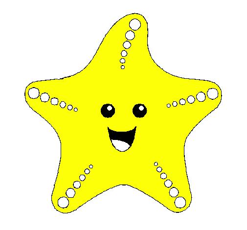 Disegno Stella di mare colorato da Utente non registrato il 13 di Settembre d...