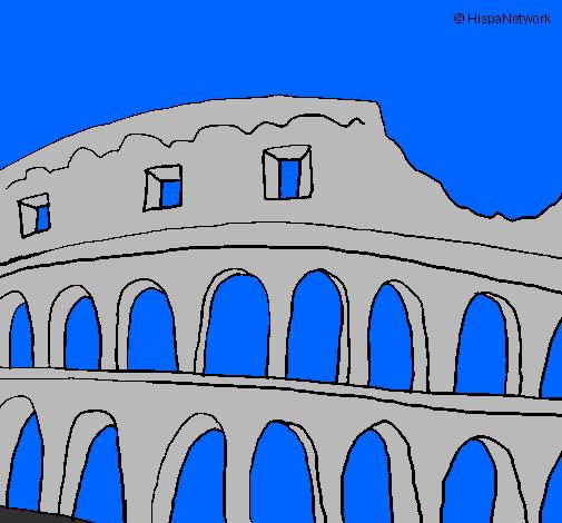 Disegno Colosseo Colorato Da Utente Non Registrato Il 15