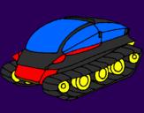 Disegno Nave carro armato pitturato su .giovanni.