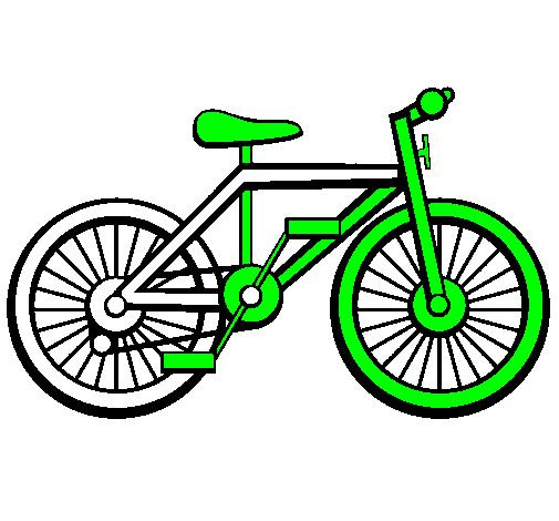 Eccezionale Disegno Bicicletta colorato da Utente non registrato il 06 di  BR35