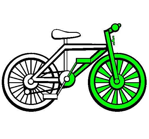Favoloso Disegno Bicicletta colorato da Utente non registrato il 06 di  RZ43