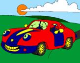 Disegno Herbie  pitturato su io
