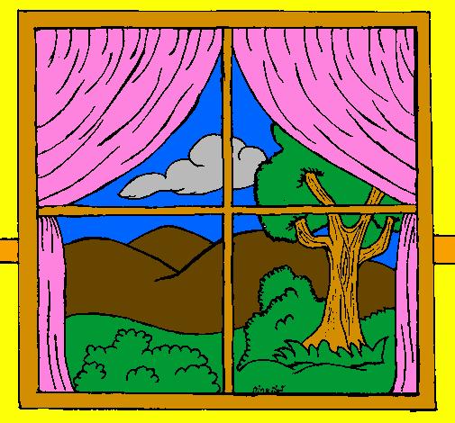 Disegno finestra colorato da utente non registrato il 20 - Finestra da colorare ...