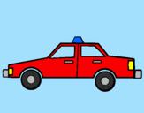 Disegno Taxi pitturato su Sam il pompiere