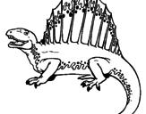 Disegno Spinosauro  pitturato su DANILO