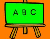 Disegno Lavagna pitturato su MARIAPIA