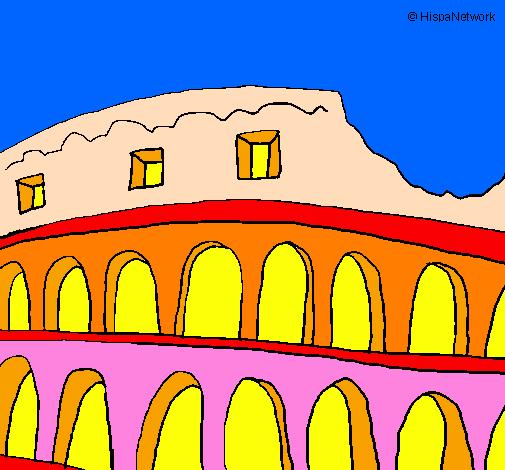 Disegno Colosseo Colorato Da Utente Non Registrato Il 01