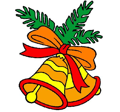 Disegno campane di natale colorato da utente non - Agrifoglio immagini a colori ...