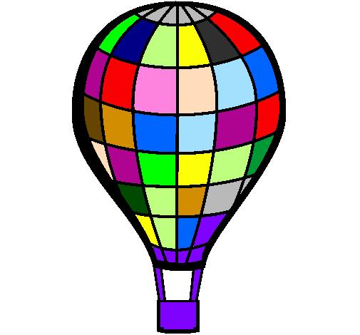 Disegno pallone aerostatico colorato da utente non for Mongolfiera da colorare