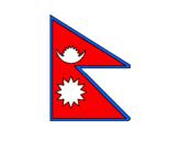Disegno Nepal pitturato su Emma