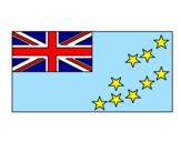 Disegno Tuvalu pitturato su Emma