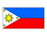 Disegno Filippine pitturato su Emma