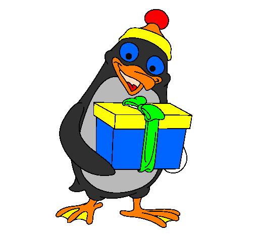 Disegno pinguino colorato da utente non registrato il 03 for Disegno pinguino colorato