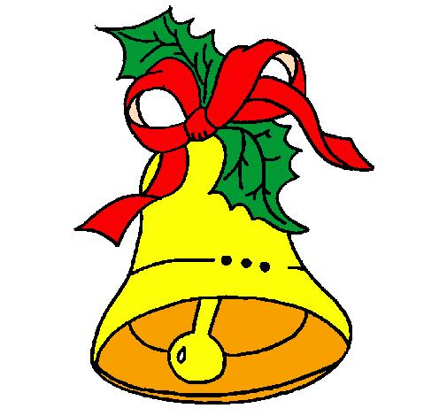 disegno campana di natale colorato da utente non