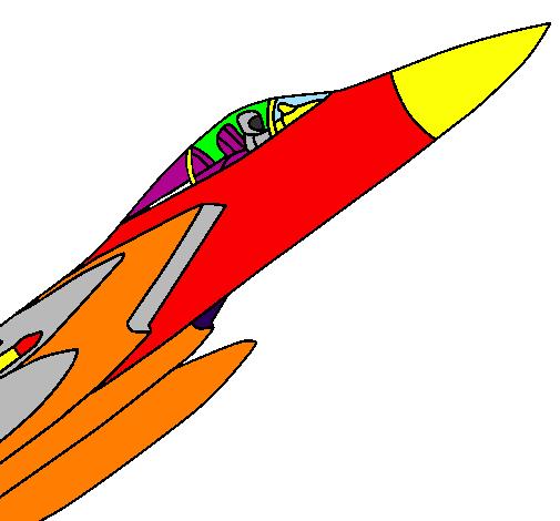Aereo Da Caccia Disegno : Disegno aereo da caccia colorato utente non registrato