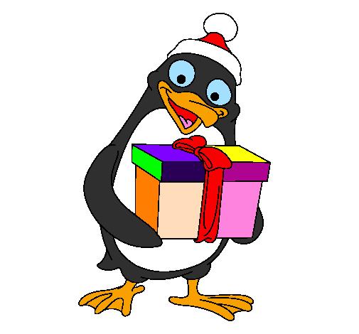 Disegno pinguino colorato da utente non registrato il 24 for Disegno pinguino colorato