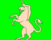 Disegno Unicorno pitturato su ai35i