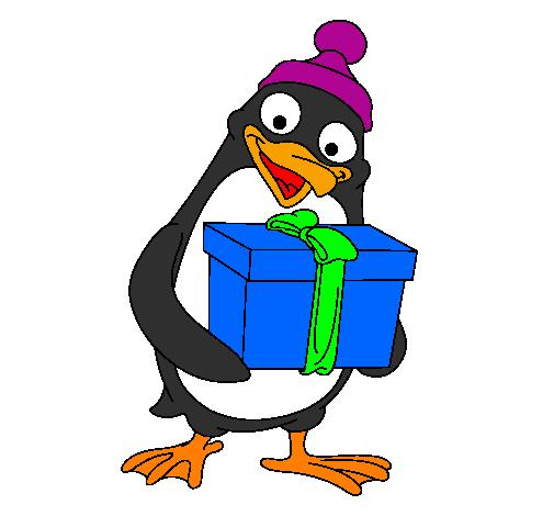 Disegno pinguino colorato da utente non registrato il 31 for Disegno pinguino colorato