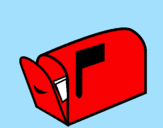 Disegno Buca delle lettere  pitturato su luca teodorico