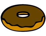 Disegno Frittella dolce pitturato su nicolollo
