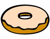 Disegno Frittella dolce pitturato su camilla  chielli