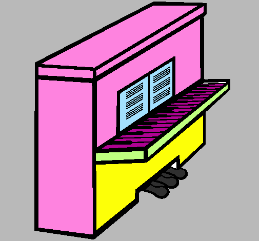 Disegno piano colorato da utente non registrato il 21 di for Disegno del piano online