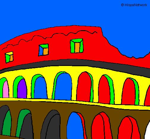 Disegno Colosseo Colorato Da Utente Non Registrato Il 18