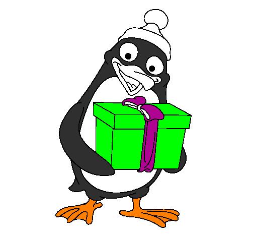 Disegno pinguino colorato da utente non registrato il 23 for Disegno pinguino colorato